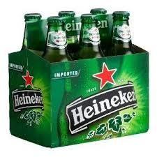 Heineken - 6-pack bottles