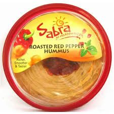 Hummus - red pepper