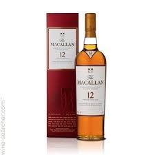 McCallan 12 Scotch