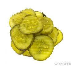 Pickles - sliced