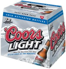 Coors Light - 12 pack bottles