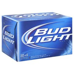 Bud Light Beer Bottles 24