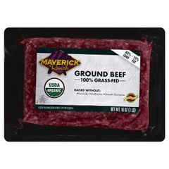 Maverick Ranch Ground Beef, 100% Grass Fed