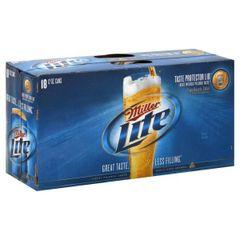 Miller Lite - 18 pack cans