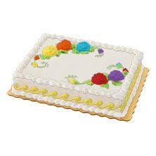 Personalized Sheet Cake