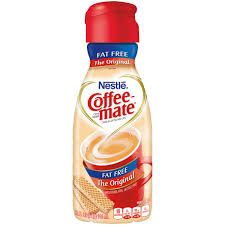Nestle Coffeemate Fat Free Liquid Creamer