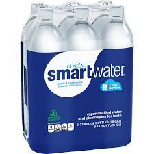 6 pack Smart Water