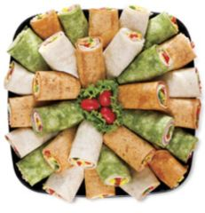Sandwich Wraps platter - feeds 8-10