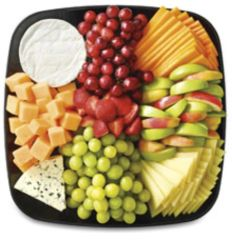 Fresh Fruits & Cheeses platter (feeds 8-12)