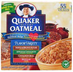 Oatmeal packets - 1 box