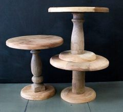 Wood Cake Stands