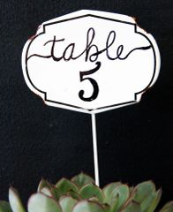 Metal Table Marker