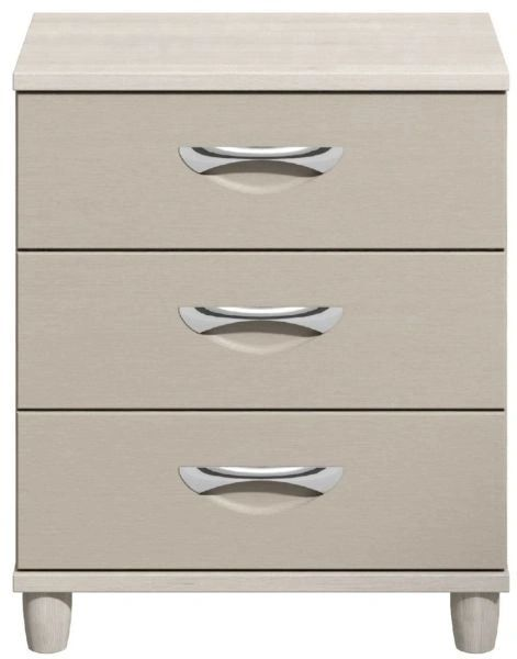 Moda elm & cashmere Large Chest of Drawers - 3 Drawers
