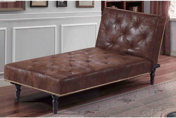 Charles Vintage Style Chaise Longue