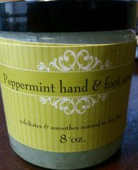 8 oz. Peppermint hand and foot scrub