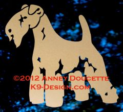 Lakeland Terrier Standing Decal
