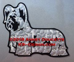 Skye Terrier Standing Magnet - Choose Color