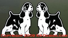 English Springer Spaniel Standing Magnet - Choose Color