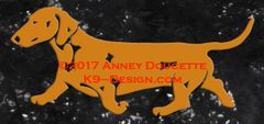 Smooth Dachshund Trotting Decal