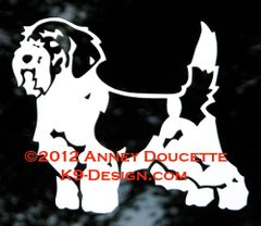 Petit Basset Griffon Vendeen Stacked Decal