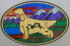 "Irish Setter ""Colorado"" XL Oval Magnet"