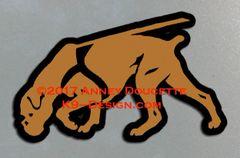 Boxer Tracking Magnet - Choose Color