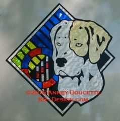 "Pointer Agility Diamond 8"" Magnet"