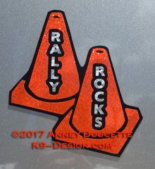 Rally Rocks Magnet