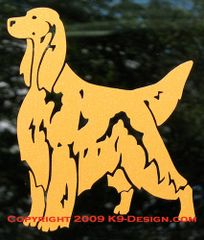 Irish Setter Standing Decal