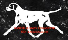 Pointer Trotting Decal