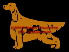 Irish Setter Stacked Decal