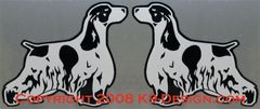 English Cocker Spaniel Magnet - Choose Color