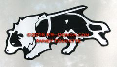 Border Collie Tracking Magnet - Choose Color