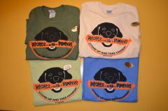 "Black Labrador Retriever ""BITCHES WITH BUMPERS"" T-Shirts"