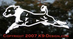 Basenji Lure Coursing Decal