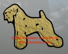 Soft Coated Wheaten Terrier Stacked Magnet