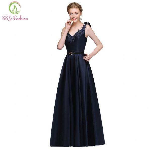 Wholesale Ssyfashion New Simple Evening Dress The Bride Banquet