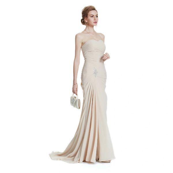 Wholesale W.JOLI 2017 Sexy Long Evening Dress Bride Banquet Elegant ...