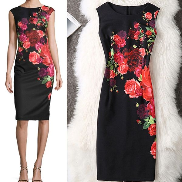Wholesale Fenghua Summer Dress 2017 Women Casual Sexy Vintage Party