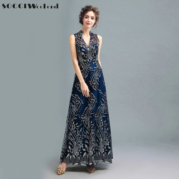 Wholesale Socci Exquisite Classic Formal Evening Dresses Organza