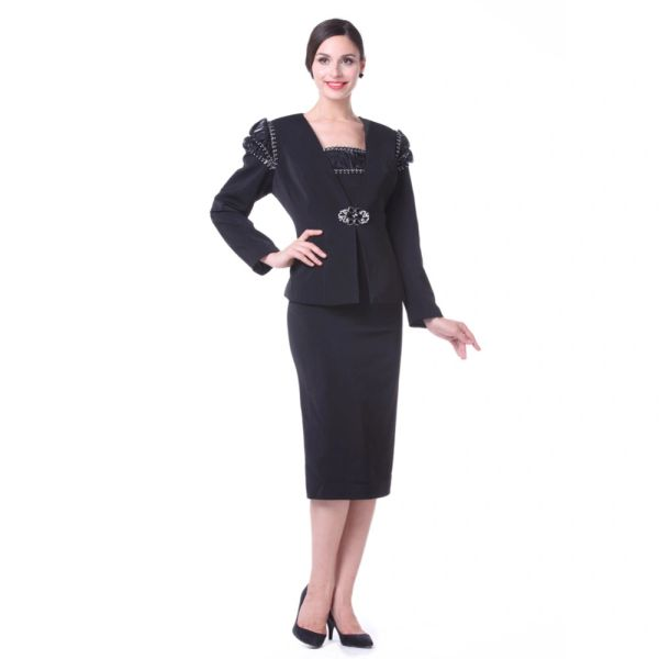 Mother Of The Bride Trendy Outfits: Wholesale Closeout Kueeni Women Church Suits 3PCS Jacket