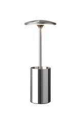 Tidy Chrome Storage Table Lamp