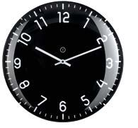 Quito Black Clock Large