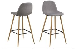 Rasmus Fabric Bar Stool