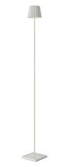 Daisy Floor Lamp Powder White