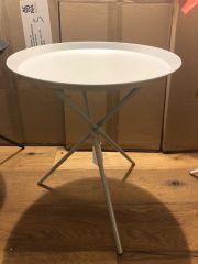 Tripod Grey Lamp Table