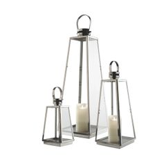 Madison Indoor/Outdoor Lantern 3-piece Set