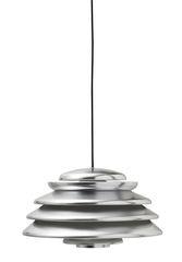 Hive Polished Aluminium Pendant