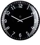Quito Black Clock Small