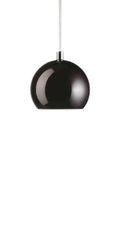 Frandsen Ball Black Glossy Light Pendant Lamp